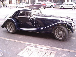 Automobile Modèle Morgan