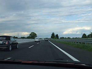 Motorway A4, Italy