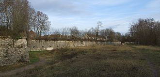 Auxonne - The 1826 Ramparts on the south side