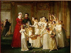 Pauline Auzou - Arrival of Archduchess Marie-Louise in Compiègne (with new husband Napoleon)