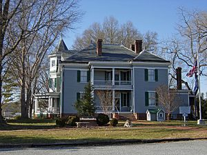 National Register of Historic Places listings in Campbell County, Virginia - Image: Avoca Museum, Altavista, Campbell County, VA 1