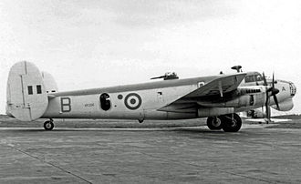 Avro Shackleton - Shackleton MR.1 of 269 Squadron with dorsal turret in 1953