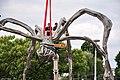Bürkliplatz - Demontage 'Maman' 2011-07-28 20-39-06.JPG