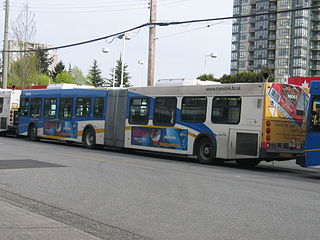 98 B-Line Former express bus service in Metro Vancouver, Canada