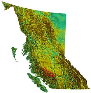 Chilcotin Ranges Subrange of the Pacific Ranges in British Columbia, Canada