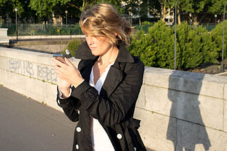 Annabel Linquist - Annabel Linquist creating a song for Sony Ericsson in Paris. Photo by Daniel Karlsson.