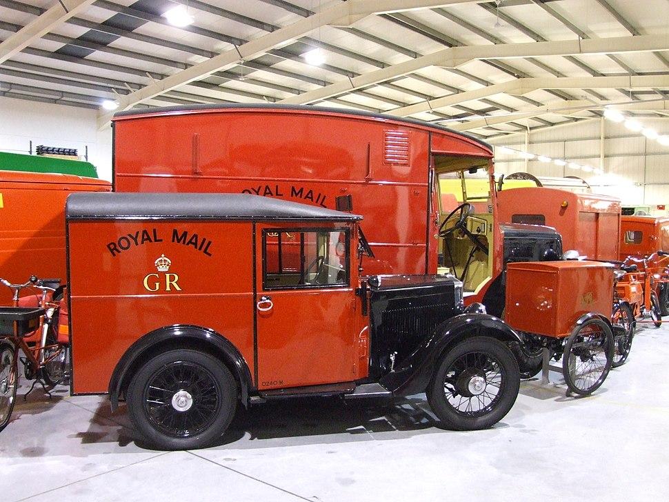 BLW Morris Minor M8 Post Office van