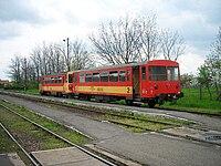 BZ motorvonat a Debrecen-Tiszalök vasútvonalon.JPG