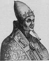 Portrait of Pope Benedict VIII