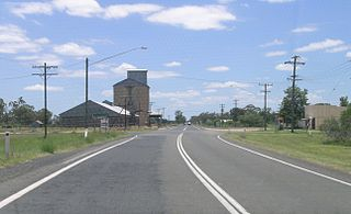 Baan Baa Town in New South Wales, Australia