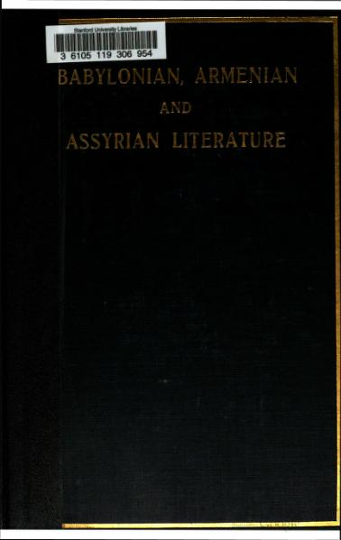 File:Babylonian and Assyrian Literature.djvu