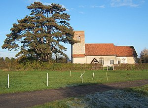 Badley - Image: Badley Church of St Mary