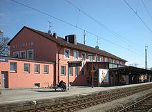 Weilheim Oberbay Station