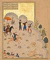 Bahram Gur's Skill with the Bow - Haft Paikar.jpg