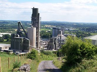 Ballyconnell - Cement factory