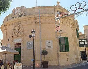 Banca Giuratale (Victoria, Gozo) - Façade of the Banca Giuratale