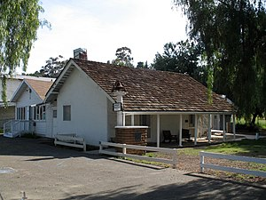 Hubert H. Bancroft Ranch House - The house in 2007