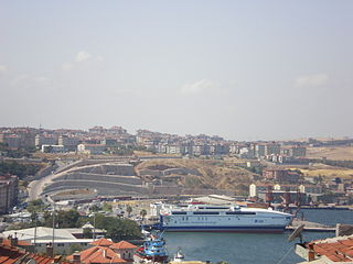 Bandırma Town in Turkey