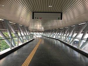 Bandar Utama MRT station - Image: Bandar Utama 1 Powerhouse Link Bridge View 1