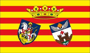 Alcoy, Spain - Image: Bandera oficial histórica de la ciudad de Alcoy