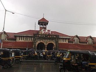 Bandra railway station - Image: Bandra Railway station