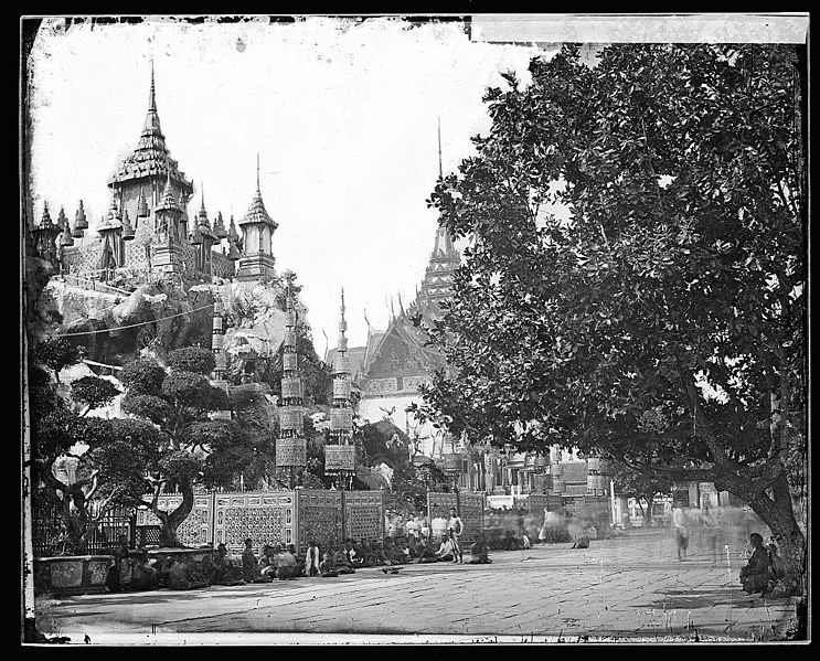 Siam Bangkok in Old Days