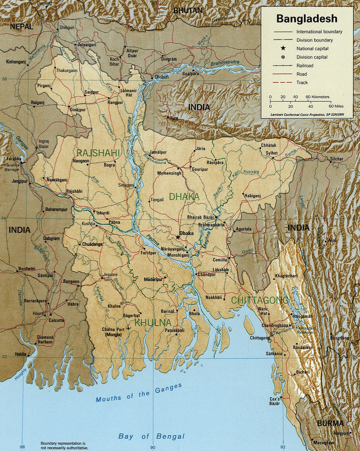 List of rivers of Bangladesh - Wikipedia