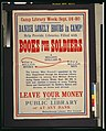 Banish lonely hours in camp! Help provide libraries filled with books for soldiers LCCN2001700122.jpg
