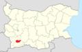 Bansko Municipality Within Bulgaria.png