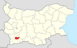 Bansko Municipality Within Bulgaria.png