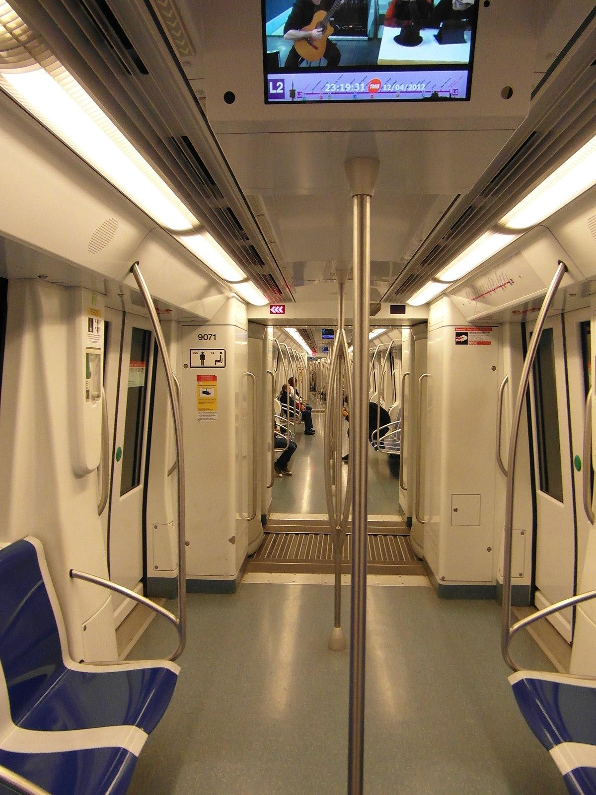 File:Barcelona - Inside Metro - L2 (7510338060) jpg