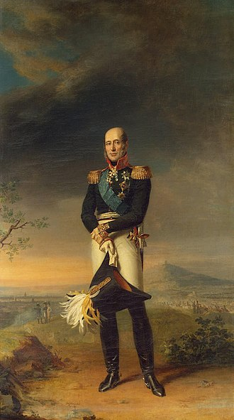 Battle of Paris (1814) - Field Marshal Count Barclay de Tolly, commander of the joint forces