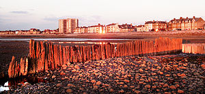 Bare, Morecambe - Beach and promenade, Bare