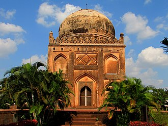 Deccan sultanates - One of the Barid Shahi tombs (Bidar Sultanate)