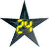 The 24 WikiProject Barnstar