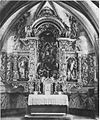Baročni oltar v cerkvici Matere božje na Muljavi 1931.jpg