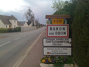 Baron-sur-Odon - Image: Baron sur odon
