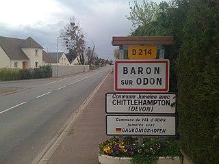 Baron-sur-Odon Commune in Normandy, France