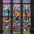 Bartolomeo di pietro e mariotto di nardo, vetrata del presbiterio di s. domenico a perugia, 04.jpg