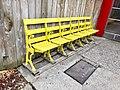 Baseball Park Seating, Turf Club Liquors, Linwood, Cincinnati, OH (47362293292).jpg