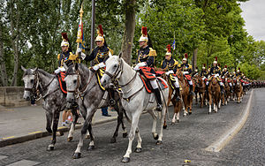 Republican Guard (France) - Cavalry.