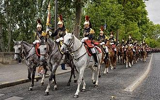 Republican Guard (France) - Cavalry.