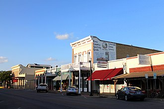 National Register of Historic Places listings in Bastrop County, Texas - Image: Bastrop Downtown 1