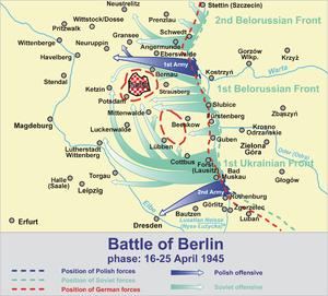 Battle of Bautzen (1945) - Image: Battle of Berlin 1945 a