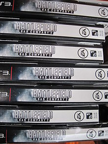 Battlefield - Bad Company 2 for PS3 boxes at Costco, SSF ECR