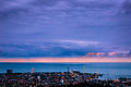 Batumi from a nearby hill. 2013.jpg