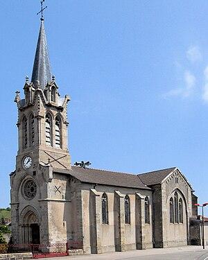 Baudricourt - Baudricourt, Église Saint-Remy.