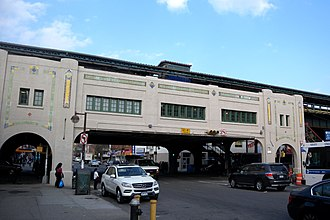 Bay Parkway (BMT West End Line) - Image: Bay Parkway 83d St BMT sta jeh