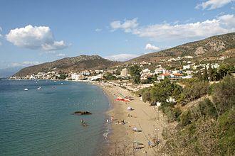 Tolo, Greece - View of Tolo Bay