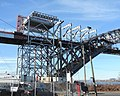Bayonne Bridge scaffolding from John St jeh.JPG